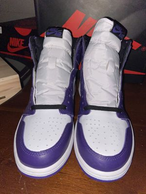 Jordan 1 Court purple for Sale in Phoenix, AZ