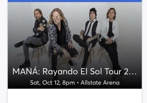 MANA Concert Ticket for Sale in Cicero, IL