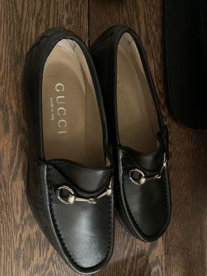 Men's Gucci Black Loafers size 8 1/2 for Sale in Denver, CO
