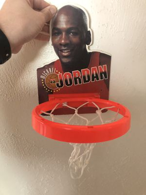 Vintage Michael Jordan Door Basketball Hoop for Sale in Upland, CA