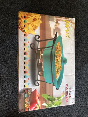 Fiesta Chafing Dish for Sale in El Monte, CA