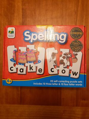 Children puzzles, games and finger print book for Sale in Bellevue, WA