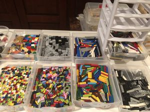 Reserved Lot - LEGO Tiles + Slanted Bricks for Sale in West Chester, PA