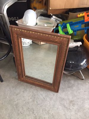 24 inches tall and 18 inches wide mirror only $10 for Sale in Hollywood, FL