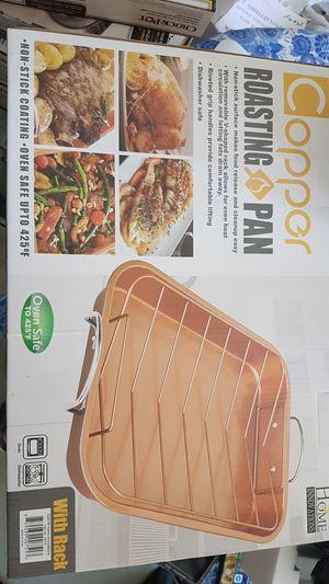 Copper Non‐Stick Roasting Pan for Sale in Las Vegas, NV
