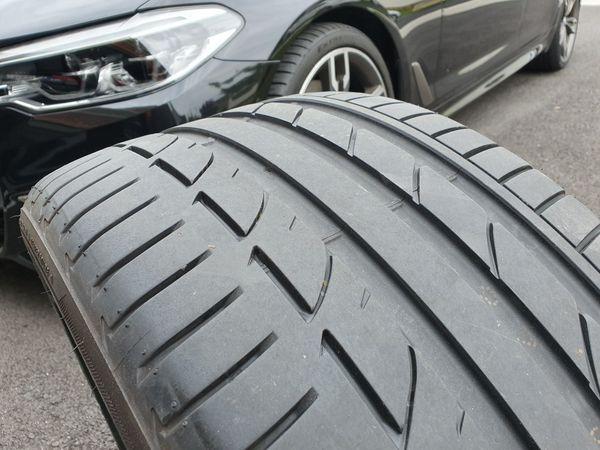 "BMW 20"" Bridgestone Performance Tires. 275/35R20"