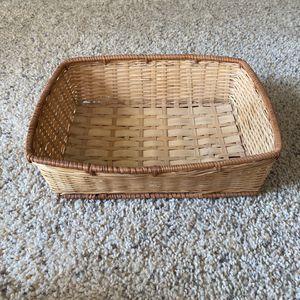 ‼️Rectangle Wicker Basket‼️ for Sale in Edgar, WI