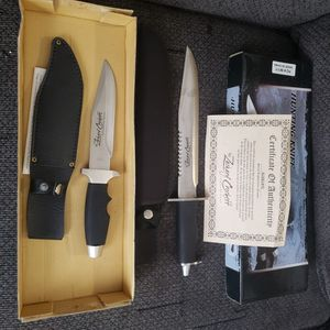 Zachary Crockett Collectors Edition Knife Set for Sale in Oak Hill, WV
