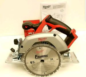 Milwaukee circular saw 18v new in box for Sale in Arlington, VA