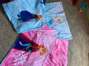 Frozen sheet set -size full/queen for Sale in Chesapeake, VA