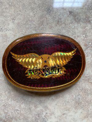 Vintage 70's Aerosmith Buckle for Sale for sale  Graham, WA