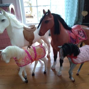 My Generation American Girl Doll Horses for Sale in North East, MD