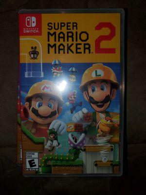 Nintendo Switch Super Mario Maker 2 for Sale in Oak Park, IL