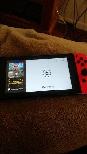 Nintendo switch with two games for Sale in Trenton, NJ