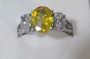 Canary Color Crystal Ring for Sale in Mercedes, TX