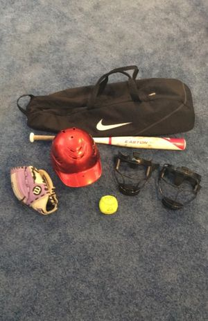 Girls Softball Complete Set for Sale in Scarsdale, NY