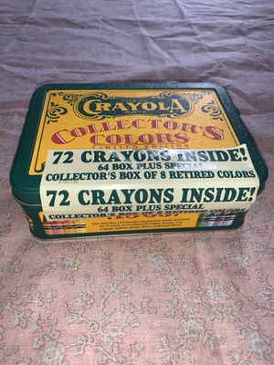 VINTAGE CRAYOLA COLLECTABLE TIN! NOT USED for Sale in Moreno Valley, CA