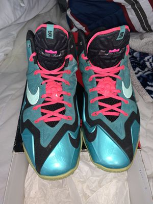 Lebron 9 south beach ! Size 10.5 Nike nba for Sale in Woodbridge Township, NJ