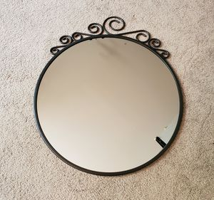 Black spiral wall mirror for Sale in Mill Creek, WA