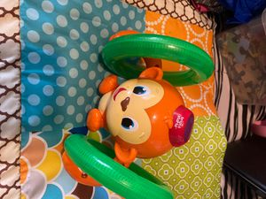 Bright Starts Rolling Monkey for Sale in Garland, TX