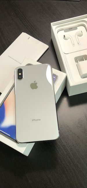 iPhone X 256gb Unlocked! for Sale in Chandler, AZ