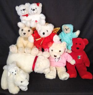 Lot of Plush Teddy Bears Stuffed Animals Toys for Sale in Tacoma, WA