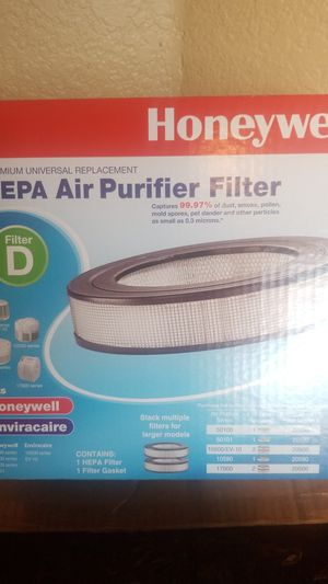 Two Brand new Honeywell HRF-D1 Universal Air Purifier Filters. for Sale in Riverside, CA