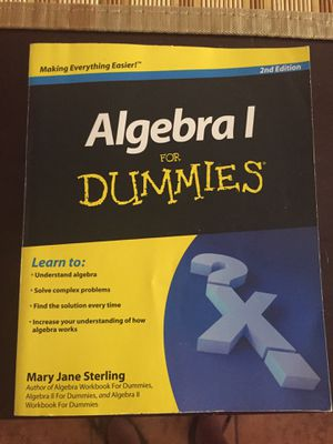 Algebra 1 for Dummies for Sale in Pembroke Pines, FL
