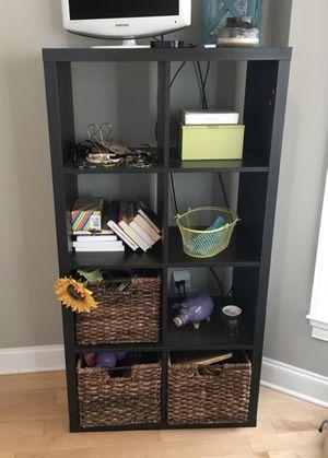 IKEA Black Shelf Unit for Sale in Arlington, VA