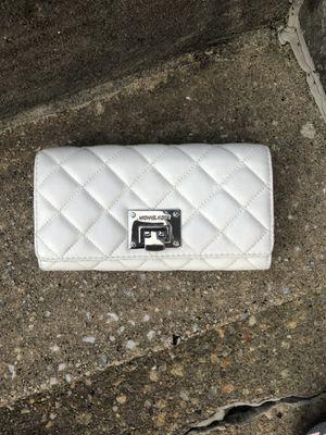 Michael Kors like new white wallet for Sale in Parkville, MD