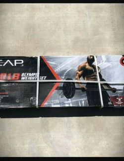7-Foot Barbell Olympic Weight Set, Pair of 25LB, 10LB & 5LB OLYMPIC WEIGHT PLATES (110LB Total Weight) for Sale in El Monte,  CA