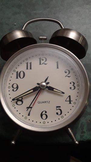 Beautiful alarm clock stainless steel for Sale in Hesperia, CA