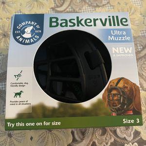 Baskerville Ultra Muzzle for Sale in Arlington, VA