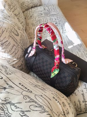 Guarantee Authentic Gucci Boston Bag. I have Louis Vuitton bags too for Sale in Riverside, CA