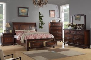 4-pcs queen size bedroom set on sale only at elegant Furniture 🎈🛋🛏 for Sale in Fresno, CA