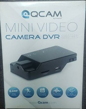 Qcam QSD-481 480p Mini Video Hidden Camera DVR Security Camcorder for Sale in Port Richey, FL