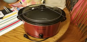 Hamilton Beach 5QT portable crock pot. for Sale in Norman, OK