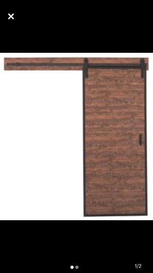 Solid interior sliding door / includes all HW for Sale in Burlington, MA