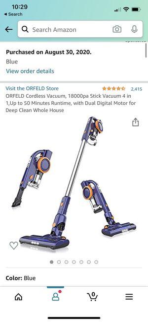 ORFELD Cordless Vacuum, 18000pa Stick Vacuum for Sale in Oakland, CA