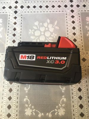 Milwaukee M18 18-Volt Lithium-Ion XC Extended Capacity Battery Pack 3.0Ah brand new for Sale in Los Angeles, CA