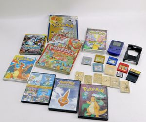 Vintage Pokemon Games & Collectibles Bundle for Sale in Hartford, CT