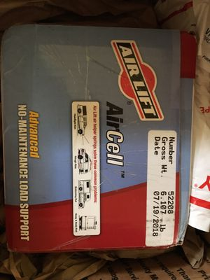 Air Lift Aircell Springs No. 52208 New in Box for Sale in St. Louis, MO