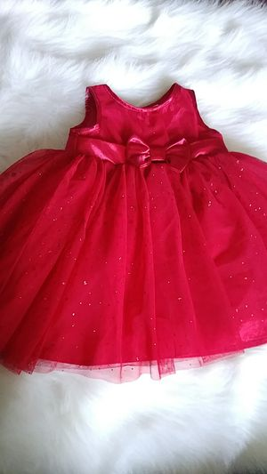 Baby girl red dress for Sale in E RNCHO DMNGZ, CA