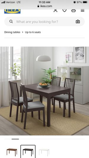 IKEA table and 4 chairs plus stools for Sale in Hillsboro, OR