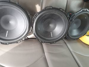 """Rockford fosgate p2d2 12 """" subwoofers for Sale in Woonsocket, RI"""