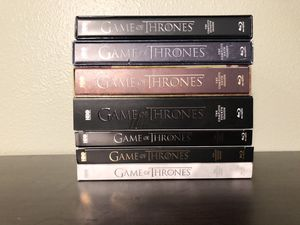 Game Of Thrones 7 Seasons for Sale in Graham, WA