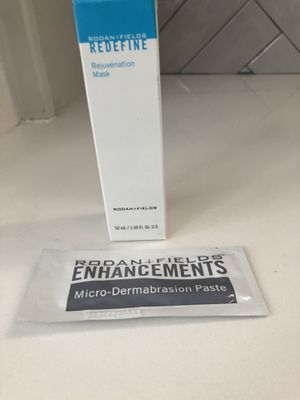 Rodan and Fields Redefine Rejuvenation Mask + Microdermabrasion Paste Sample for Sale in Plano, TX