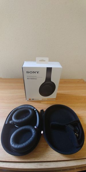 Sony WH-1000X M3 Noise canceling headphones. for Sale in Fort Belvoir, VA