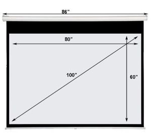"""100"""" Projection Screen -Brand New ! for Sale in Los Angeles, CA"""