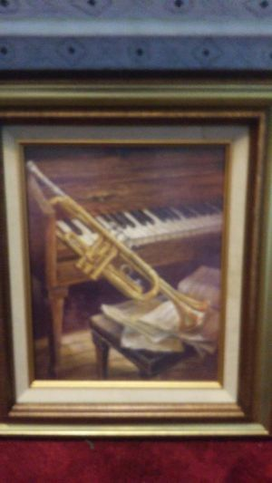 Vintage oil painting-new frame clips for Sale in Pittsburgh, PA